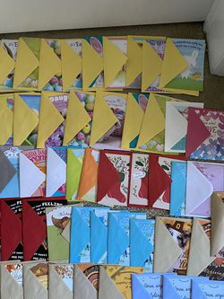 50 Hallmark Cards - Easter, Birthday, Thanksgiving, Holiday for Sale in Boca Raton,  FL
