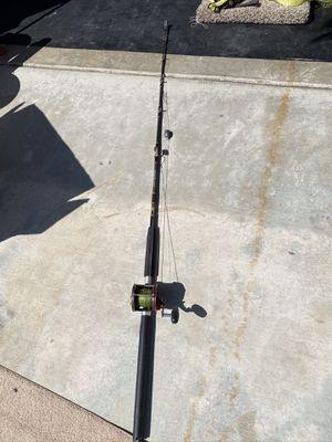 Penn Senator fishing reel and rod for Sale in Lake Elsinore, CA
