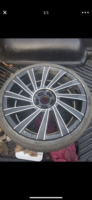 Set of 4 rims and tires for sale for Sale in Columbus, OH
