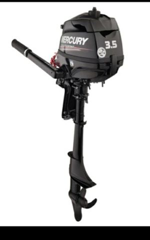 Brand new 2020 Mercury 3.5 hp Outboard New in box 15 inch shaft (1200) for Sale in Las Vegas, NV