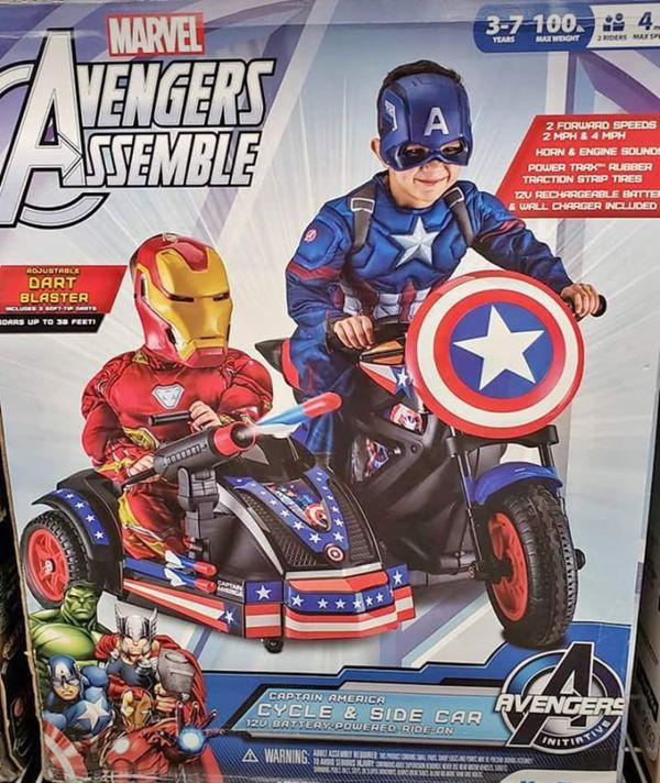 Captain America Avengers Power Wheels