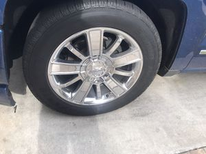 "20"" Silverado high country stock wheels for Sale in Fresno, CA"