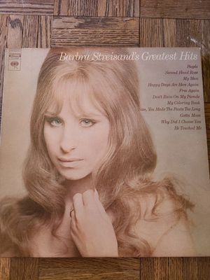 Barbara Streisand Greatest Hits Album for Sale in Anderson, SC