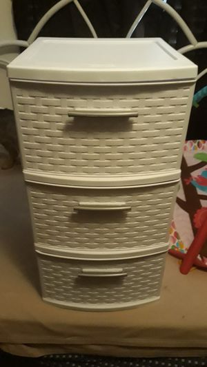 Plastic drawers for Sale in Glendale, AZ