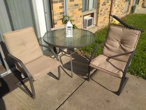 For sale ac patio set for Sale in Sioux City, IA
