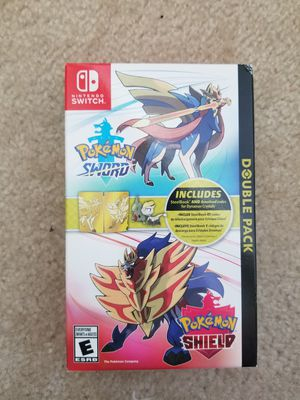 Pokemon Sword & Pokemon Shield: Double Pack Collectible SteelBook Edition - Nintendo Switch for Sale in Cypress, TX