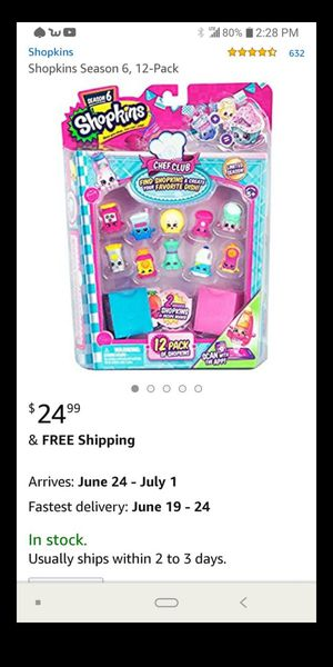 12 pack Shopkins for Sale in Columbus, OH