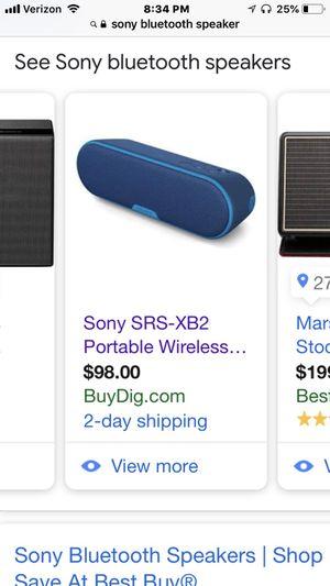 Sony Bluetooth speaker for Sale in Washington, DC