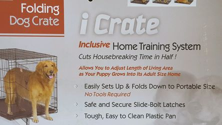 icrate Folding Dog Crate New In Box for Sale in Newcastle,  WA