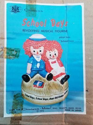 1972 raggedy Ann and Andy music box for Sale in Cleveland, OH