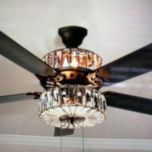 52 In Clear Glass Ceiling Fan for Sale in Bakersfield, CA