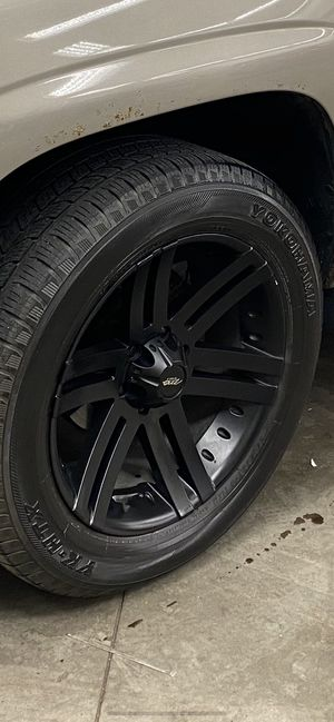 """20"""" black rims for Sale in Groveport, OH"""