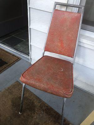 Orange porch chair for Sale in Seattle, WA