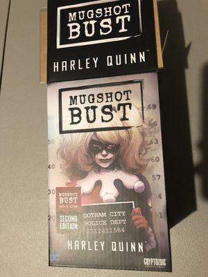 Harley Quinn Mugshot Bust Statue for Sale in Spring, TX