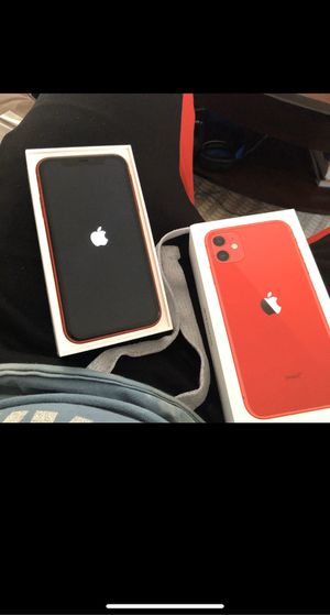 Unlocked iPhone 11 product red for Sale in Adams, TN