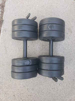 Dumbell weight sets for Sale in Round Lake Heights, IL