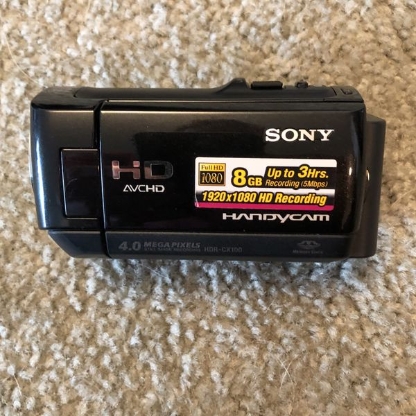Sony Handycam HDR-CX100 Digital HD Video Camera