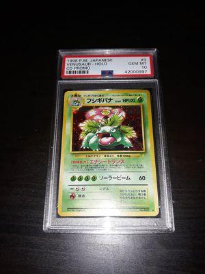 Pokemon Venusaur Japanese CD Promo Trade Please PSA10 GEM Mint for Sale in Queens, NY