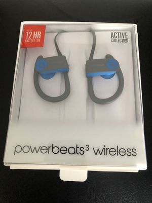 Powerbeats 3 wireless headphones - new, not used!! for Sale in Cary, NC
