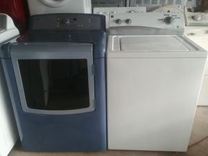 SUPER CAPACITY KENMORE ELITE WASHER & DRYER SET for Sale in Lake Worth, FL