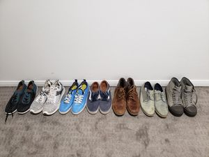 Mens size 10 shoes. Individual pairs or all together for Sale in Los Angeles, CA