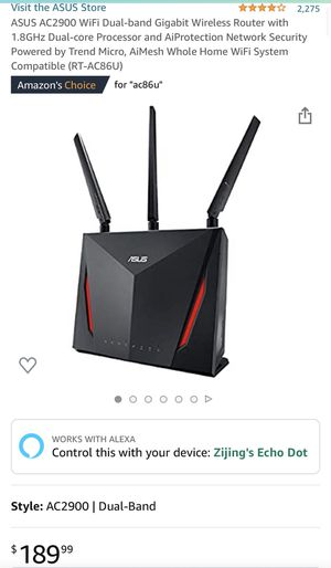 Excellent ASUS ROUTER AND Netgear MODEM for Sale in Federal Way, WA