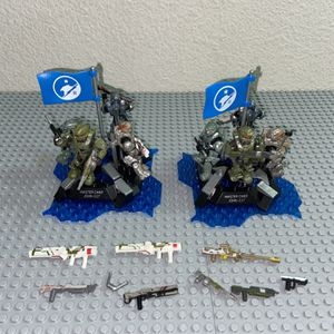 Halo Mega Construx Blue Team for Sale in Los Angeles, CA