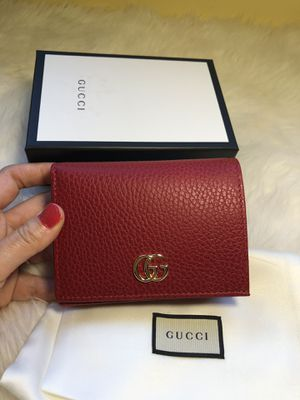 New authentic Gucci leather wallet for Sale in Yorktown, VA