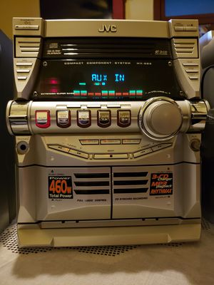 JVC MX-GB5 G-MAX STEREO SYSTEM for Sale in Chicago, IL