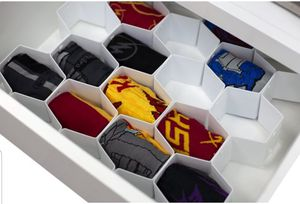 Home Basics Honeycomb 8 Piece Plastic Drawer Organizer. New in Box for Sale in Los Angeles, CA
