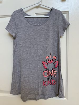Just swing top, shirt, girls clothes, pug, pugicorn, size 8 for Sale in Peoria, AZ