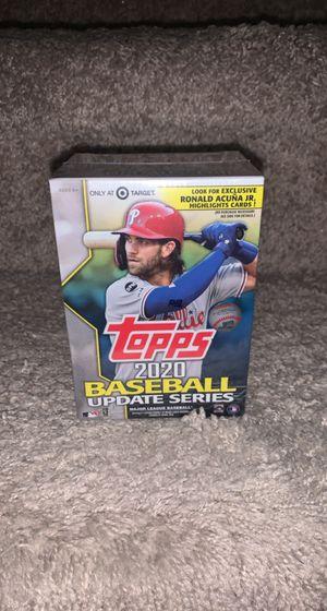 Topps 2020 Baseball Update Series Blaster Box for Sale in Gibsonton, FL