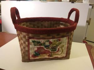 Holiday basket for Sale in Southbury, CT