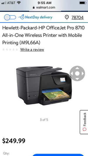 HP OfficeJet Pro 8710 Printer for Sale in Austin, TX