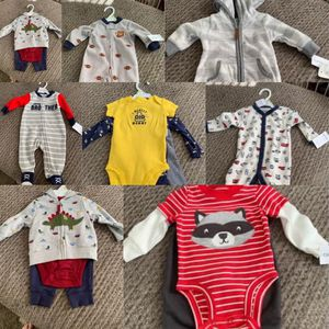 Baby Boy Clothes 0-3 for Sale in Trenton, NJ