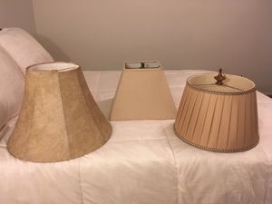Lamp Shades-Assorted -$5 for Sale in Mauldin, SC