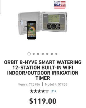 smart wifi sprinkler timer for Sale in Escondido, CA