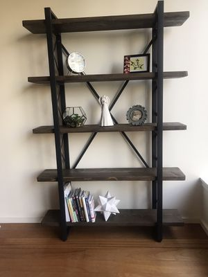 Solid wood bookshelf for Sale in Los Angeles, CA