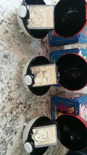 23k gold platted pokemon cards for Sale in Oxnard, CA