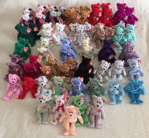 TY Beanie Babies BEARS COLLECTION (72 Pieces) - Adult Owned Collection. EXCELLENT CONDITION / CLEAN / ALL RETIRED. for Sale in Stockton, CA