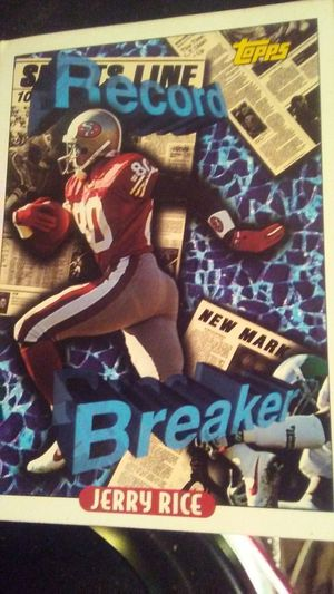 Jerry Rice collectible card for Sale in Greenville, MS