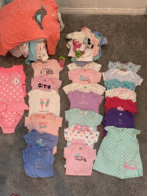 Super cute Baby girl clothes for Sale in Desert Hot Springs, CA