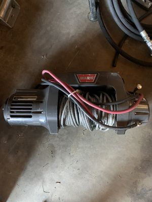 Warn 9.5ti winch brand new with mount jeep Toyota rock crawler for Sale in Alta Loma, CA