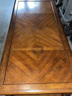 Beautiful Vintage Wood Coffee Table With Two Open Cupboards 58.5 X 26 for Sale in Beaverton,  OR