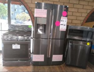 Samsung Kitchen Set Appliances for Sale in Providence, RI