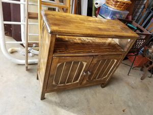 Wood cabinet 30 inch tall 30 long 14 in wide for Sale in Gulfport, MS