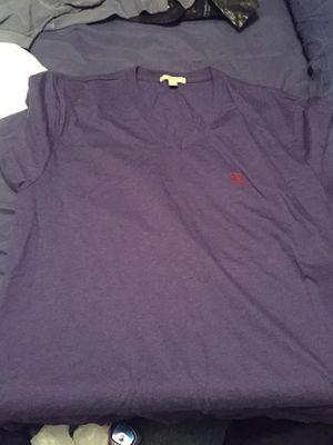 Burberry v neck t shirt for Sale in Philadelphia, PA