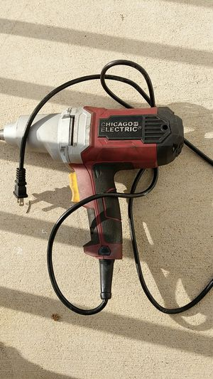 Chicago Electric 1/2 inch impact wrench for Sale in Centreville, VA
