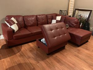 Leather Sectional Couch for Sale in Boston, MA