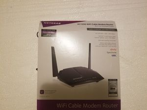 Wifi Cable Modem Router - Never Used for Sale in Homer Glen, IL